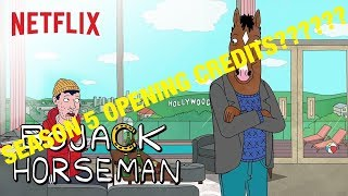 BoJack Horseman SEASON 5 OPENING CREDITS LEAKED?!?