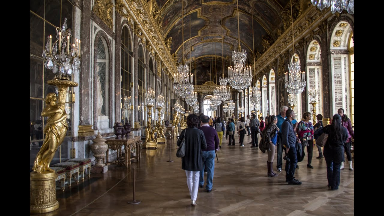 Palace Of Versailles In October Part 3 Interior