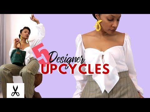 Best 5 Designer Fashion Thrift Flip Upcycles for Summer 2019