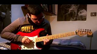 dIRE sTRAITS - Sultans of Swing (Live) Final solo - (Cover)