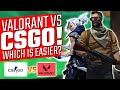 Gambar cover Shroud Says CSGO is Harder than Valorant - Is He Right?