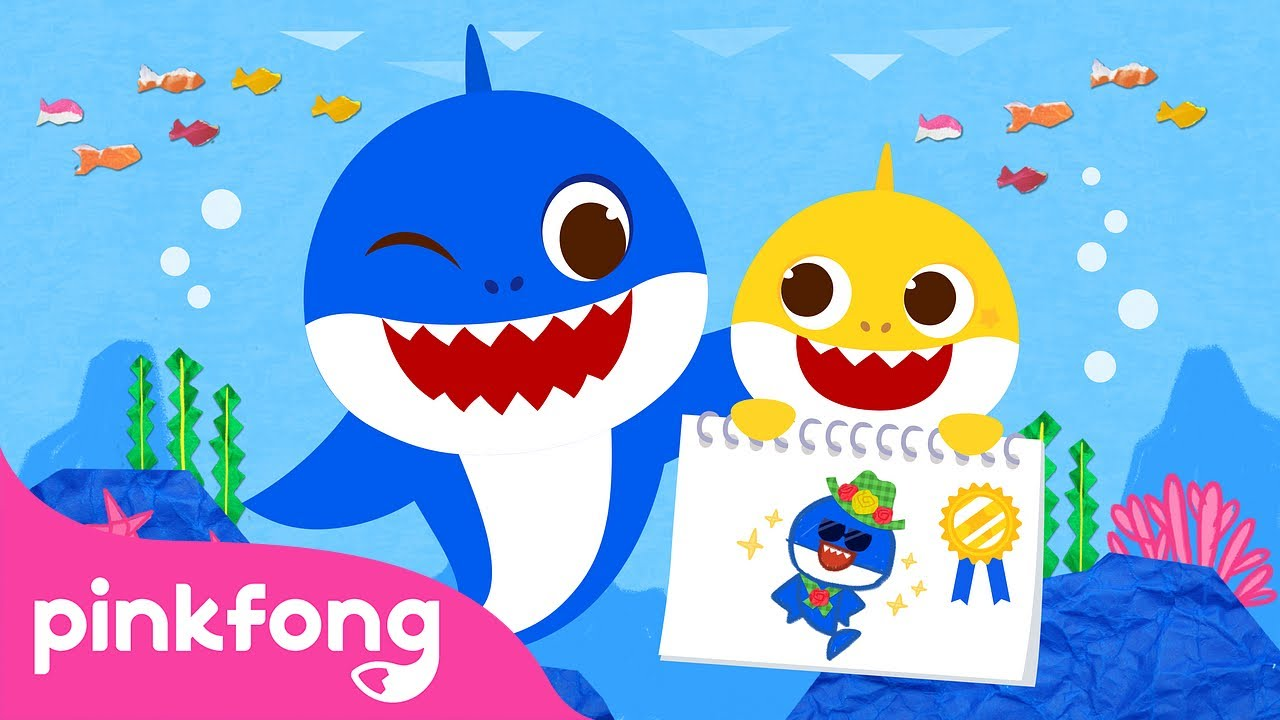 Baby Shark's Father's Day | Happy Father's Day | Baby Shark Monthly | Pinkfong Songs for Children