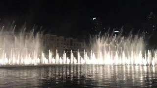 Burj Khalifa - Fountain Show -  Michael Jackson