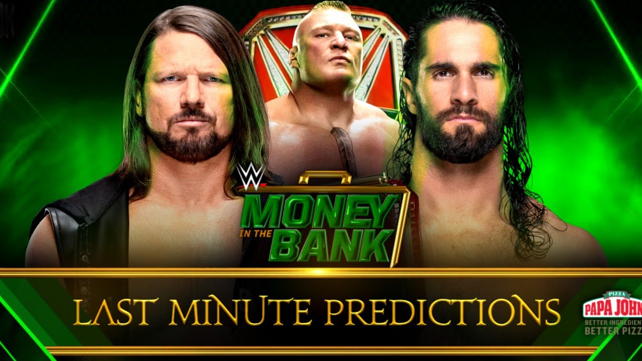 2019 WWE Money in the Bank matches, card, rumors, date, start time, location, predictions