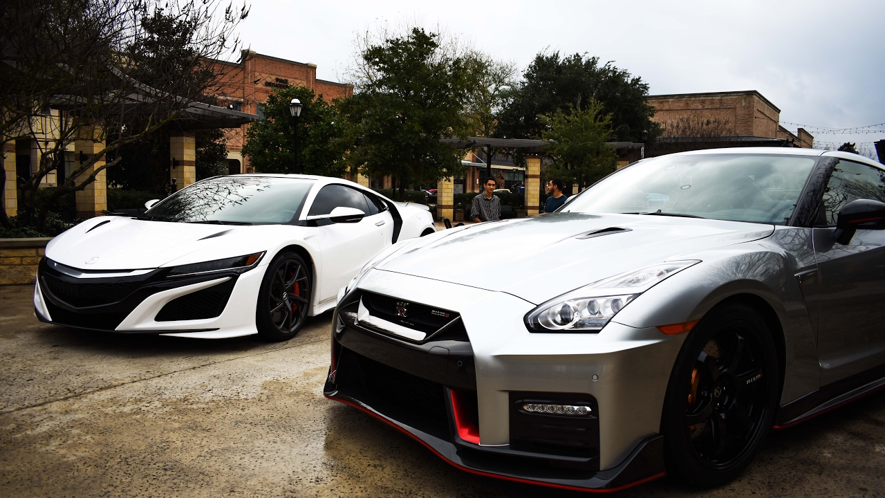 New Nsx And Gtr Nismo Houston Ride And Shine 1 21 17