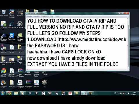 GTA IV Download RIP