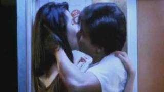''As Tears Go By''- Kar Wai Wong- 王家卫. Kissing scene