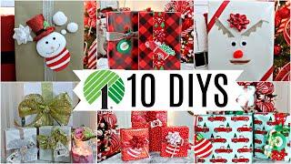 ?10 DIY DOLLAR TREE CHRISTMAS …