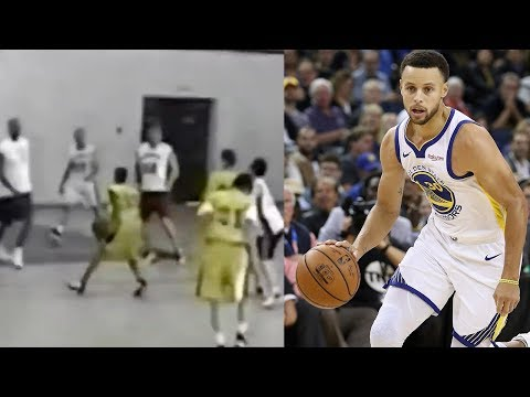 Shay Diddy - RARE Footage Of Baby Stephen Curry SCHOOLING Grown Men On The Court!
