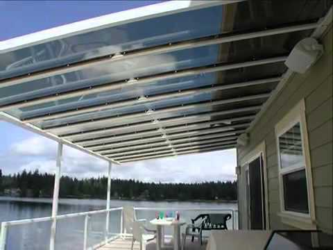 SkyVue Patio Cover   Custom Canopy And Patio Covers   YouTube