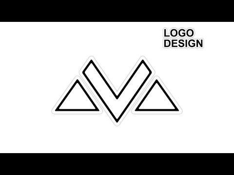 Professional Letter Logo Design Tutorial in Adobe illustrator   M Letter Logo Design Bangla Tutorial thumbnail
