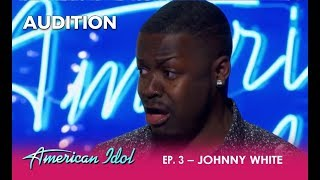 Johnny White: This Kid BRINGS It! The Judges Have To Tone Him Down | American Idol 2018