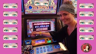 First EVER Cleopatra 2 Slot Machine Jackpot Handpay On Royal Caribbean - Casino Royale