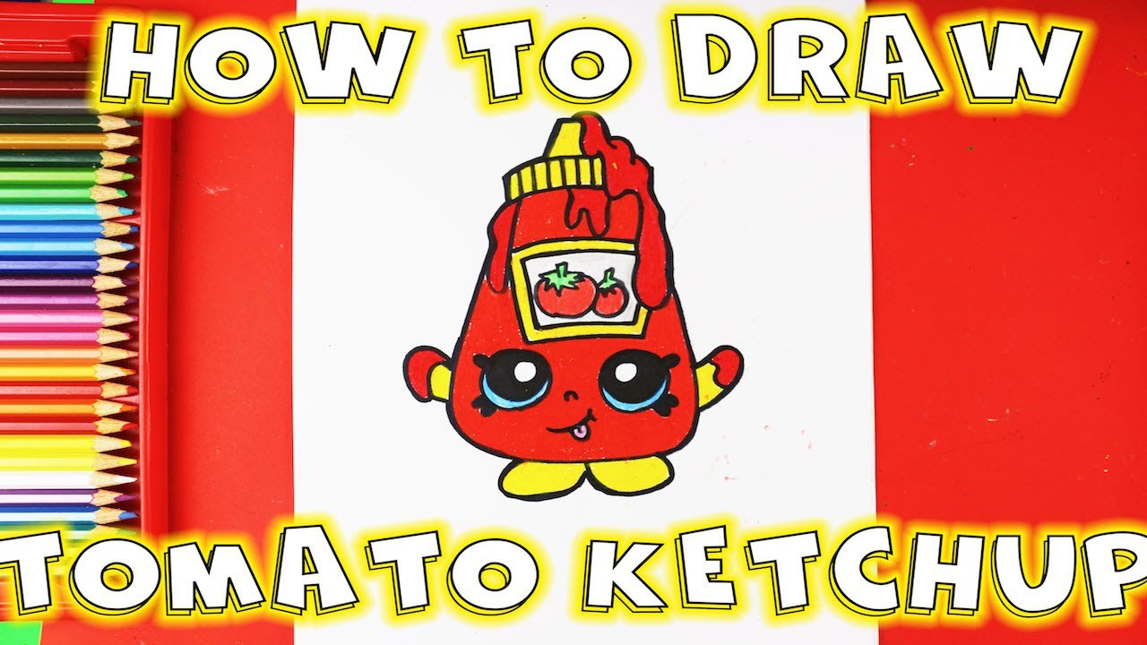How To Draw Ketchup