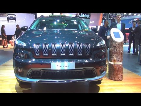 Jeep Cherokee Night Eagle II 2.2 MultiJet S&S 200 hp AWD AT9 (2017) Exterior and Interior in 3D