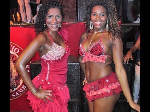 Gorgeous Afro Brazilian Dancers - Samba Routines