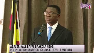 Poliisi yeetondedde Obuganda ku byali e Mugulu