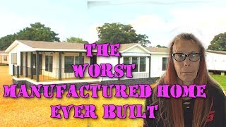 Buccaneer Lulamae - THE WORST MANUFACTURED HOME EVER BUILT!