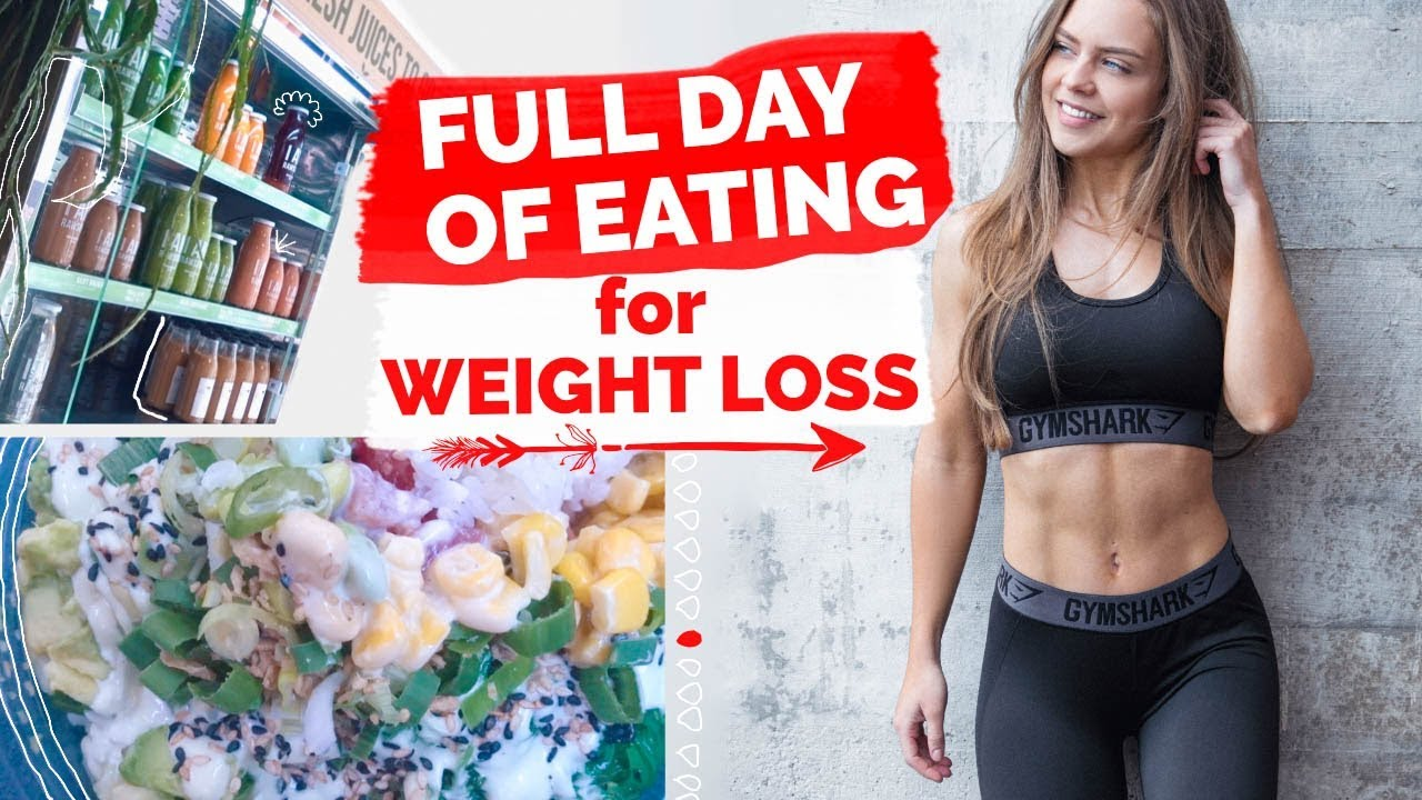 FULL DAY of EATING for WEIGHT LOSS + My Hair Care Tips