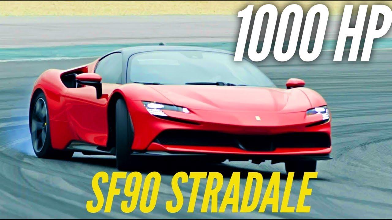 New Ferrari Sf90 Stradale 1000 Hp Youtube