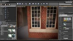 Unreal 4 Materials 11 Windows with fake interiors (Bump Offset)