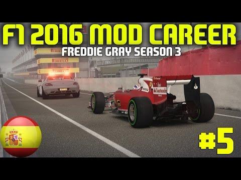 F1 2016 Spanish Grand Prix   Freddie Gray Career (F1 2014 Game)