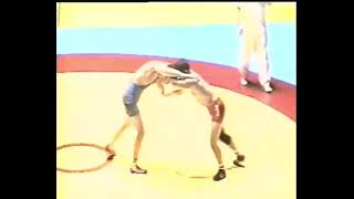 54 kg. Vlatko Sokolov (Bucim) vs Goran Stojanov (Balkanec) 5-3, Liga Natprevar 1999 god. Radovish