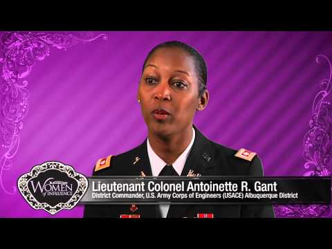 Lieutenant Colonel Antoinette R. Gant, District Commander, U.S. Army Corps of Engineers