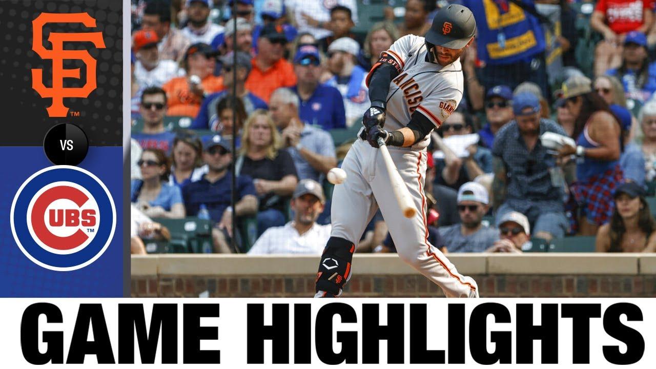 Download Giants vs. Cubs Game Highlights (9/11/21) | MLB Highlights