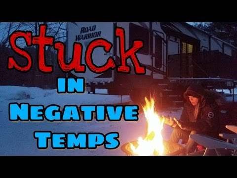 Stuck in Vermont in Negative Temps | 57. Road Warrior Life | RV Living Full Time