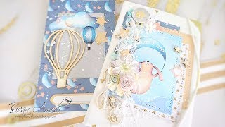 TUTORIAL carpeta con cuaderno de bebé/ Folder with a notebook for a baby. Kopra projects.