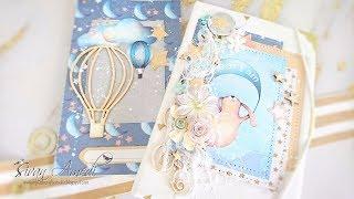 TUTORIAL carpeta con cuaderno de bebé/ Folder with a notebook for a baby. Kopra projects.