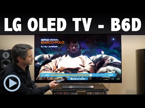 lg oled65b6d 164 cm 65 zoll oled fernseher ultra hd. Black Bedroom Furniture Sets. Home Design Ideas