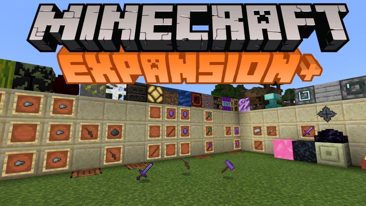 Minecraft Bedrock Edition Expansion ModPack Download - YouTube