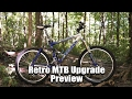 Retro Full Suspension Mountain Bike Upgrade Project Preview, Coming Spring 2017