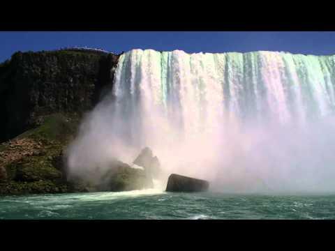 Niagara Falls-Horseshoe Falls-American Falls-Bridal Veil Falls