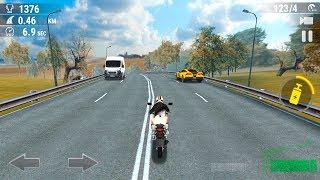 Moto Real Highway Rider 3D - moto racing game