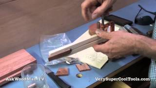 06 Platform Bed Storage Drawer • Sizing The Bronze Bushings
