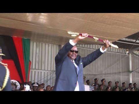 Inauguration Of Malawi President Peter Mutharika | AFP