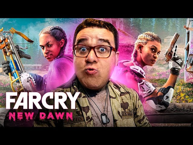 FAR CRY NEW DAWN #1 | HOPE COUNTY ESTÁ DE VOLTA (PORTUGUÊS)