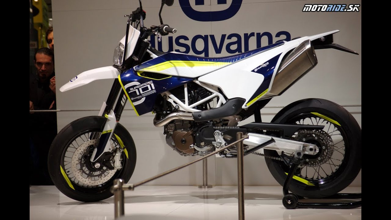 husqvarna 701 supermoto eicma 2014 youtube. Black Bedroom Furniture Sets. Home Design Ideas