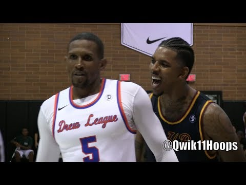 Nick Young aka Swaggy P Gets all in Your Face SCORES 28 Points at THE DREW