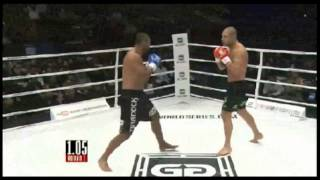 Anderson Silva VS Gokhan Saki Glory Tokyo Final 8