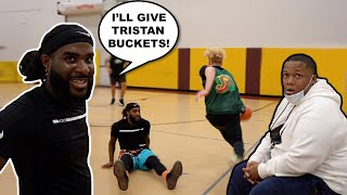 Me & Trash Talker GO AT IT! 5v5 Men's League Basketball!
