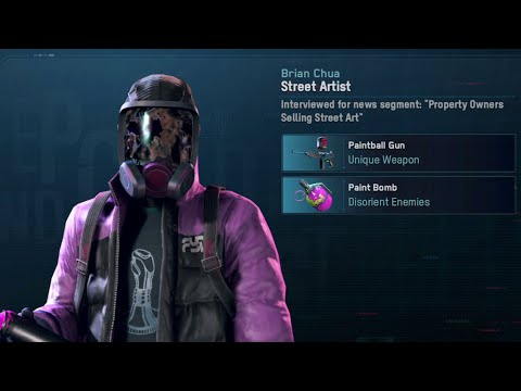 Watch Dogs Legion Where To Find The Street Artist (Unique Recruit)