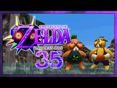 Let's Play The Legend of Zelda Majora's Mask 3D Part 35 : Die härteste Flasche - Duur: 31:46.