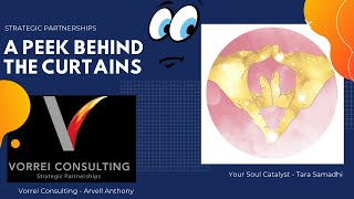 A Peek Behind The Curtains - Your Soul Catalyst with Tara Samadhi