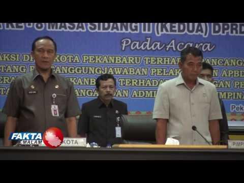 Rapat Paripurna Ke 8 Anggota DPRD Kota Pekanbaru