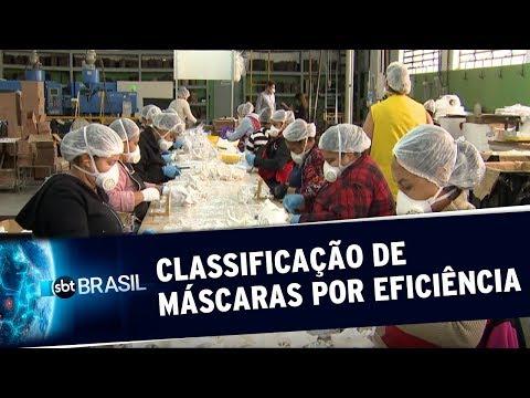Pesquisa Aponta Tipos De Máscara Mais Eficientes Contra O Coronavírus | SBT Brasil(26/05/20)