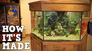 How Aquariums Are Made, A Tour Of Custom Aquariums